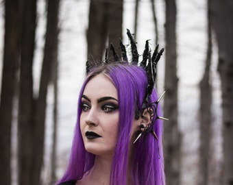 Thranduil Elven King Crown Gothic Headpiece Circlet Tiara for Cosplay Costume LOTR