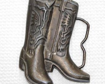 Vintage Cowboy Boots belt buckle