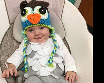 baby owl outfit halloween costume baby owl bodysuit does not include the owl hat