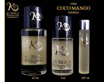 Coconut mango body fragrance oil
