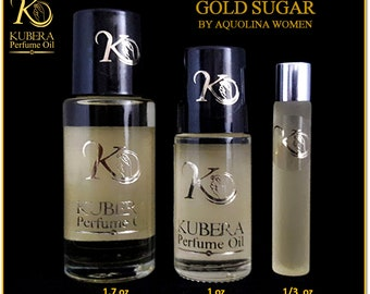 Type Gold Sugar perfume in oil for women 1/3oz 1oz 1.7oz