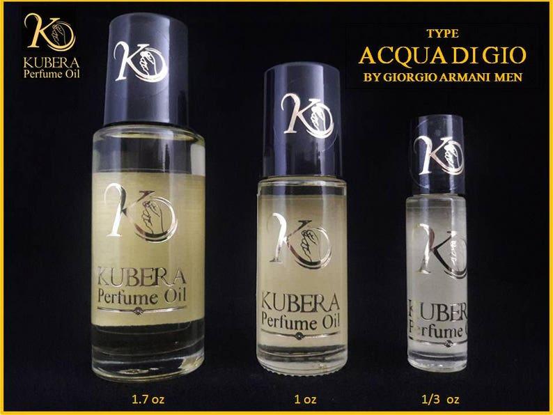 Type Acqua Di Gio Perfume Oil For Man Roll On 1 3oz 1oz 17oz