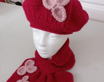 Miss Bow Collection Cherry Red
