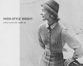 1952 High-Style Weskit