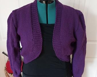 Those Sassy Dames Bolero in Passionate Purple
