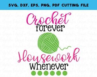 Crochet Svg, Knitting svg , Craft room decor, Svg Cutting File Yarn svg Makers gonna make. Hooks svg, mothers day Pdf Dxf Eps Png file