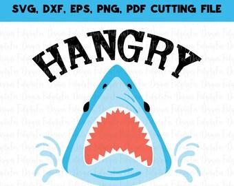 Shark Svg Shark Jaw Cutout Vector Cricut Silhouette