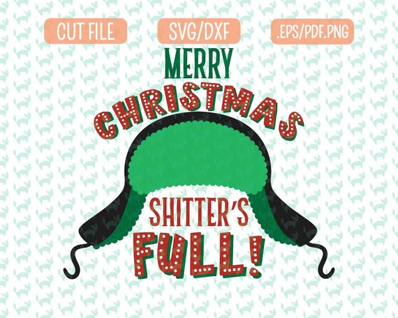 Christmas Vacation Svg Dxf Eps Png Files For Cutting Etsy