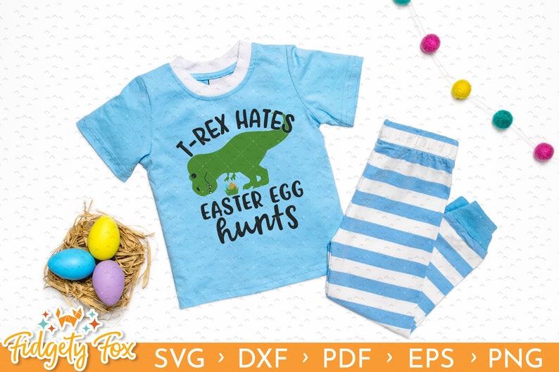 c4771e84cfb8 Dinosaur Easter SVG Easter for boys My first Easter Cutting | Etsy