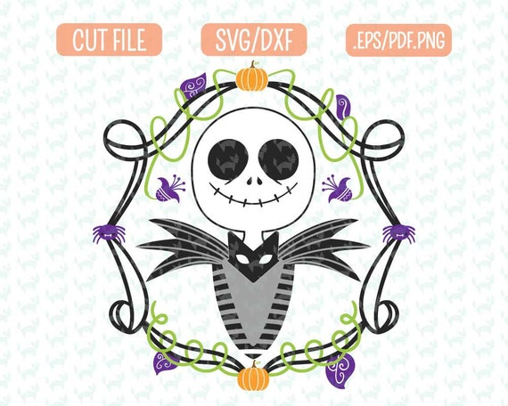Inspired Nightmare Before Christmas Svg Dxf Eps Png Files Etsy