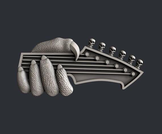 Aspire 3d STL Modelos Para Cnc Guitarra tipo