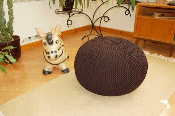 Fabulous Sale Bean Bag Pouf Footrest Ball Knit Crochet Poof Ottoman Footstool Pillow Floor Cushion Puff Knitted 55 Cm Cjindustries Chair Design For Home Cjindustriesco