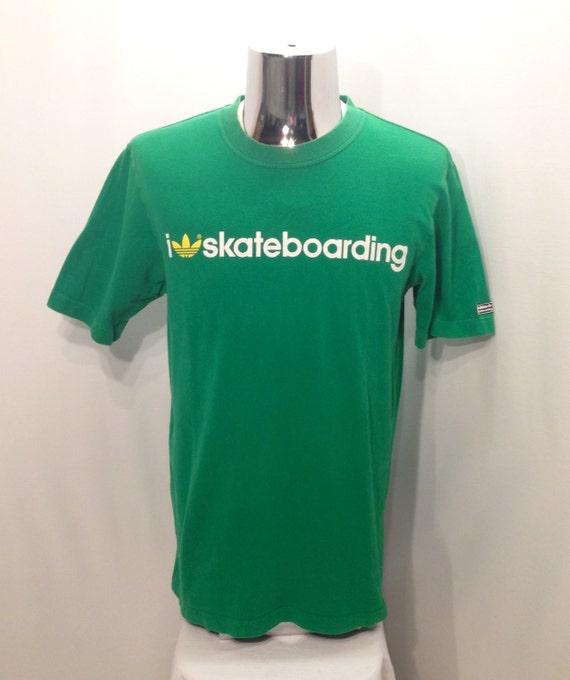 90s ADIDAS SKATEBOARDING T Shirt / Rare