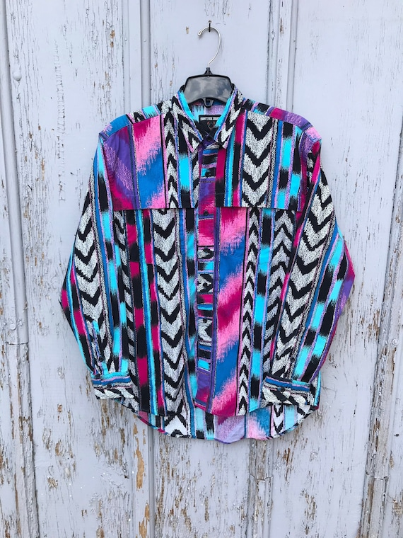 AMAZING 90s Rodeo Shirt / Vintage FRONTIER Series