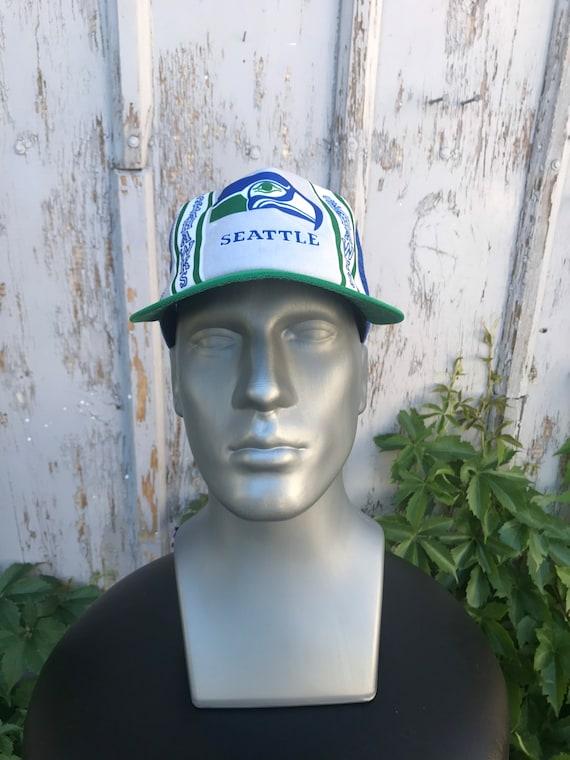 80s SEAHAWKS Hat / Vintage New Era NFL Football S… - image 9