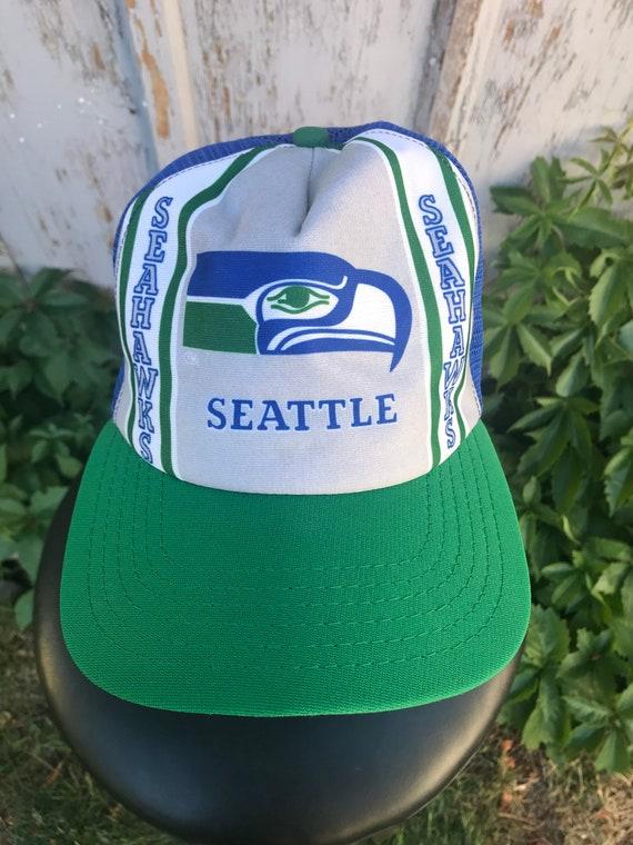 80s SEAHAWKS Hat / Vintage New Era NFL Football S… - image 3