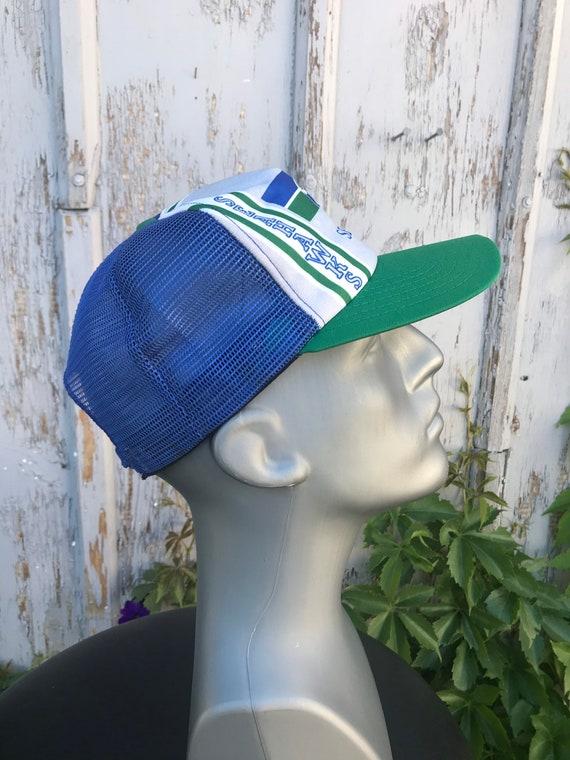 80s SEAHAWKS Hat / Vintage New Era NFL Football S… - image 6
