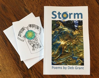 STORM by Deb Grant, Autographed, includes handcrafted gift card w/envelope