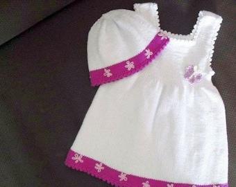 Baby christening gown, christening dress