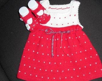 Strawberry dress as Set
