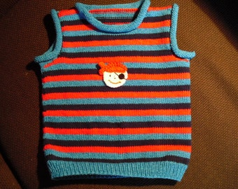 Baby sweater, Tank top