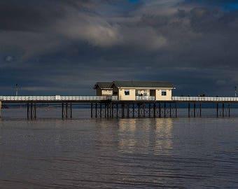 Penarth Pier panoramic