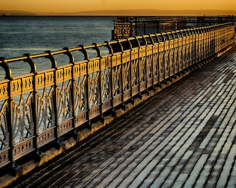 Golden railings