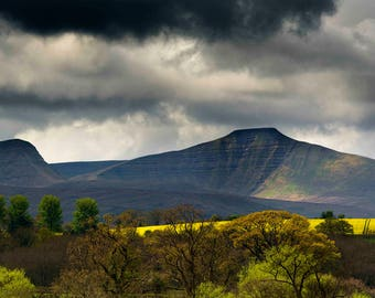 View of Brecon Beacons