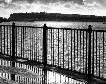 A view out to Penarth