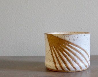Soy Candle in ceramic tumbler