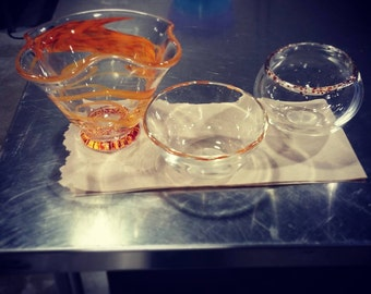Fluted bowl (Pictured Left)