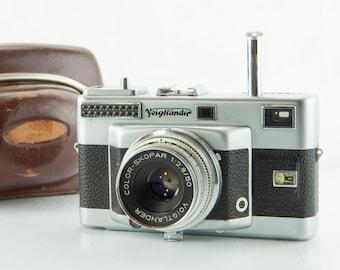 Voigtlander Vitessa T w/ 50mm f2.8 Color-Skopar Lens