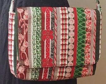 Ribbon Candy - Large Messenger Bag