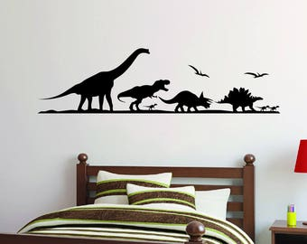 Dinosaur Silhouette Decal