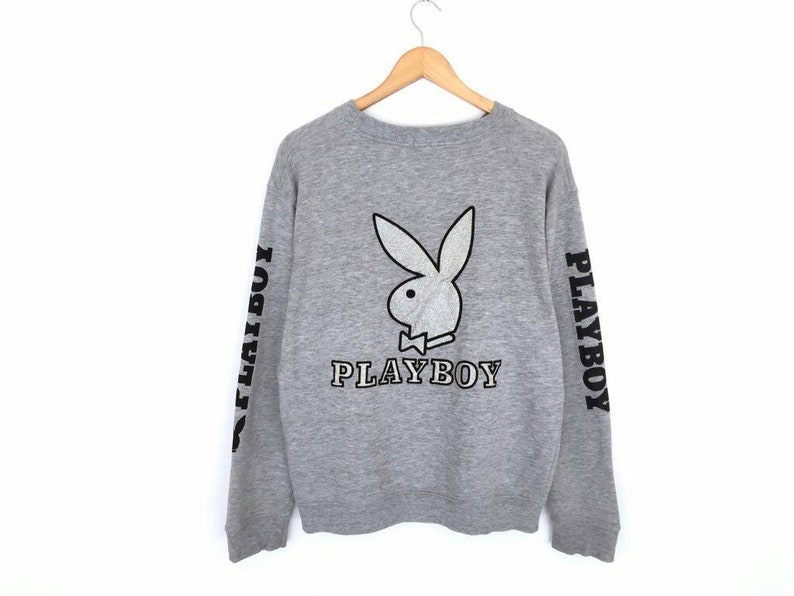Vintage PLAYBOY EMBROIDERY Sweatshirt Rare