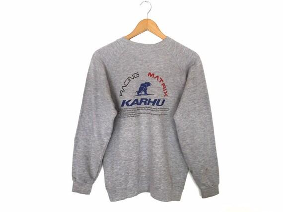 Rare!! Karhu Racing Matrix Spellout Pullover Jumpe