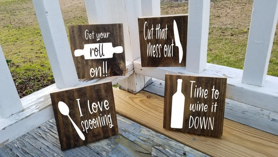 Farmhouse Kitchen decor,Kitchen decor,Wood signs,Kitchen sign,Farmhouse  rustic decor,Country wood sign,Wedding gifts,Funny kitchen sign
