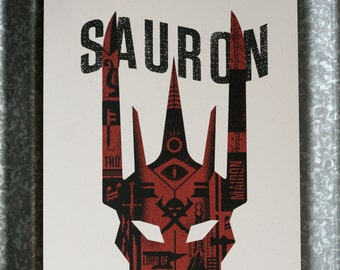 Sauron Art Print - Lord of the Rings