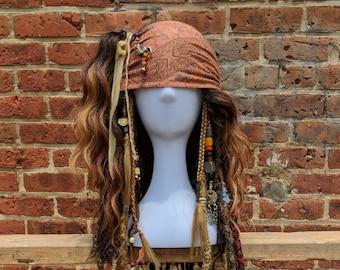 Jack Sparrow DMTNT Cosplay Wig