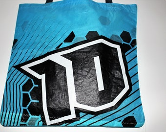 Tote Bag/ Made From Recycled Kites