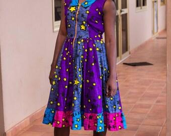 African Print Women Dress