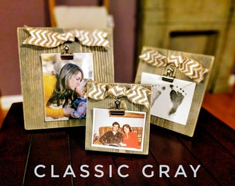 Farmhouse Picture Frames | Shabby Chic Picture Frames | Rustic Picture Frames | Rustic Farmhouse Decor | Distressed Picture Frames