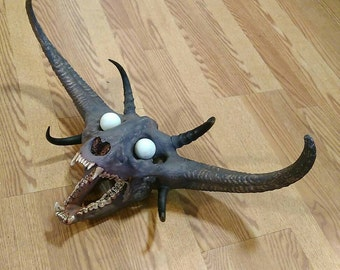 Custom Demon Skull
