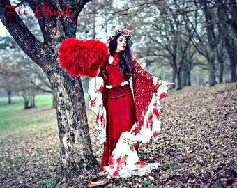 Fairy dress, formal, wedding dress for shooting or for custom scene, complete