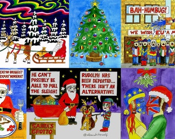 Pack of 20 Brexmas Cards
