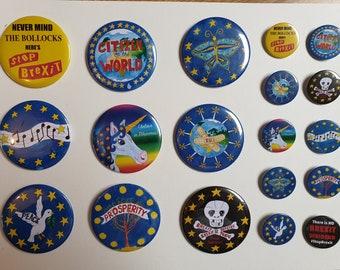 Pack of 10 Badges (Various Designs)