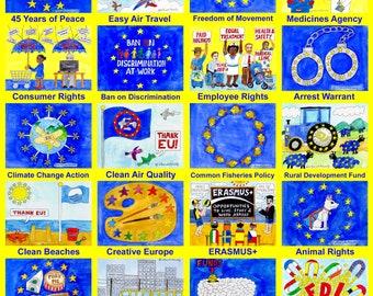 24 Reasons to Remain EU Poster