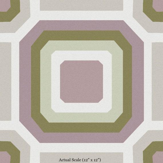 Sample Cara Removable Peel And Stick Decorative Vinyl Floor Decal Sticker Tile
