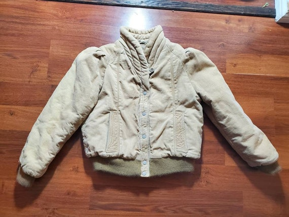 Super Cute and Unique Corduroy Jacket, 1980s Cordu