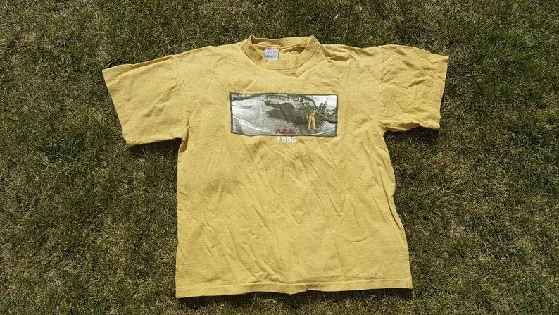 R E M Tour Shirt Size XL Vintage R E M Shirt 1995 REM Shirt